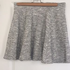 H&M Divided B&W Skater Skirt